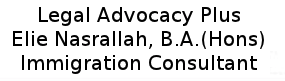 Legal Advocacy Plus (Elie Mikhael Nasrallah)